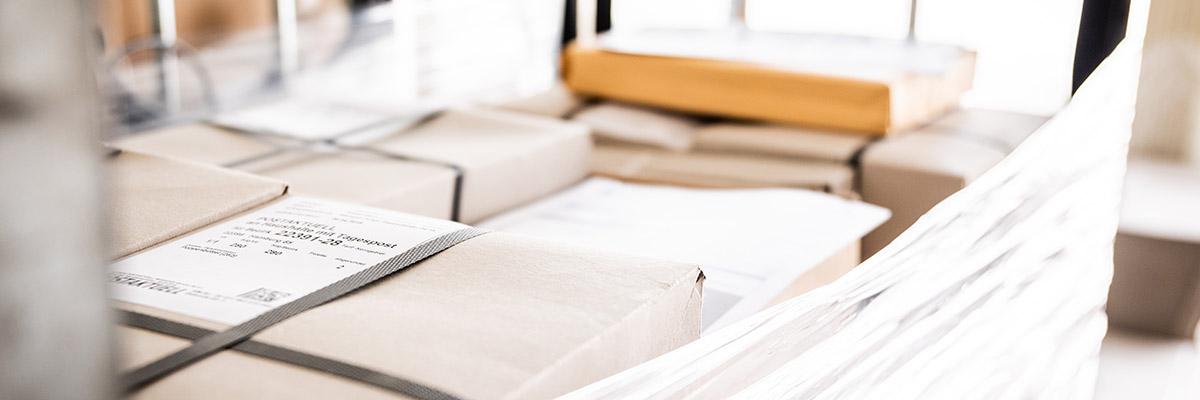Kontakt zu Postservice Socher